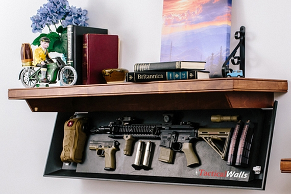 tactical wall shelves