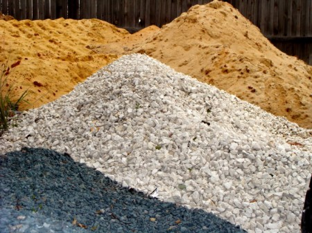 Sand-and-gravel