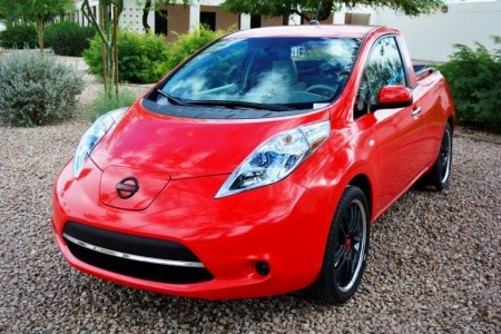 nissan leaf pickup