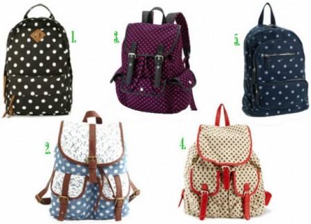 Выбор рюкзаков