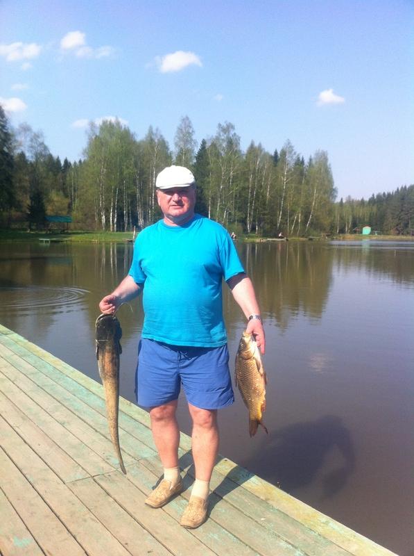 загорские дали рыбалка
