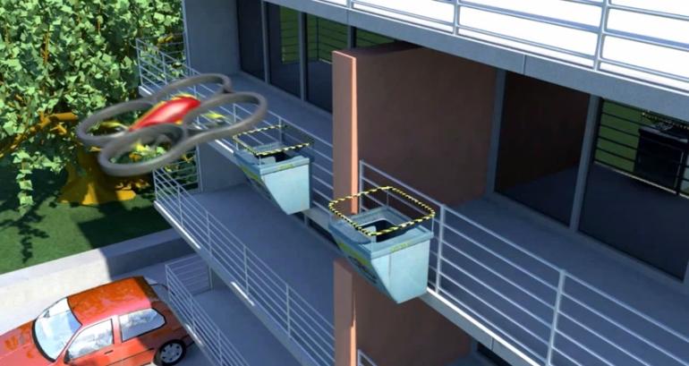 Картинки по запросу Квартиры получат балконы с посадочной площадкой для дронов