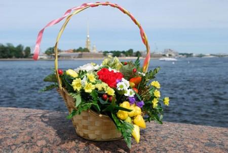 Цветы и Петропавловка