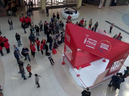 stend Coca cola soshi 2014