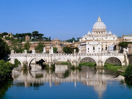 The_Vatican_Seen_Past_the_Tiber_River