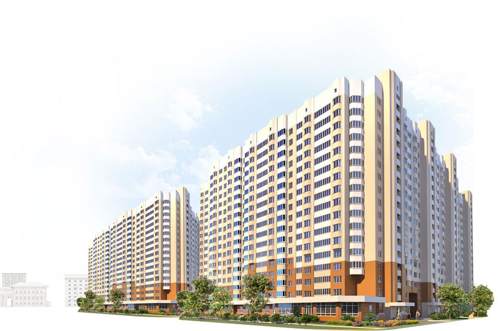 Строительство новостроек в Туле