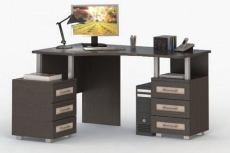 компьютерный-стол-угловой-со-стеллажом