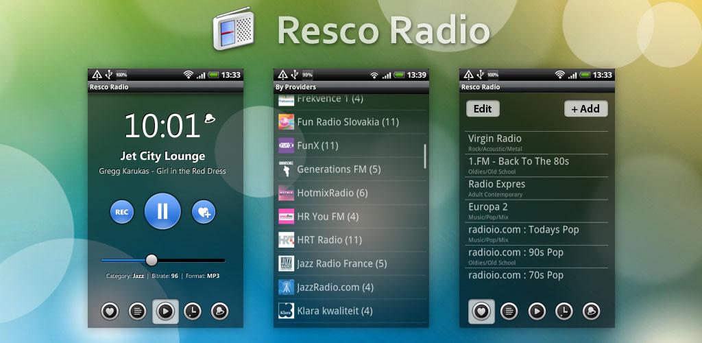 радио плеер для андроид