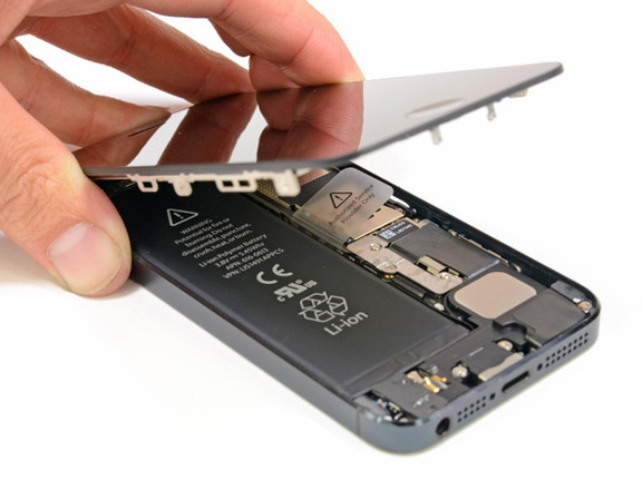 экрана iphone 5 фото замена