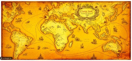 31_illustration old map cutty sark_05