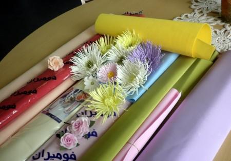 фоамиран и цветы из него
