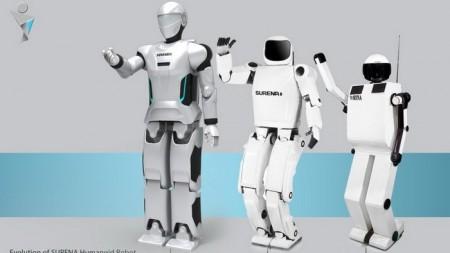 Тегеранский институт представил самостоятельного робота-гуманоида