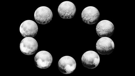 NASA показали один день жизни Плутона и Харона