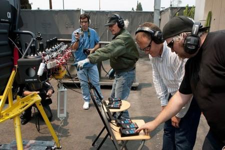Разработчики следят за полетом