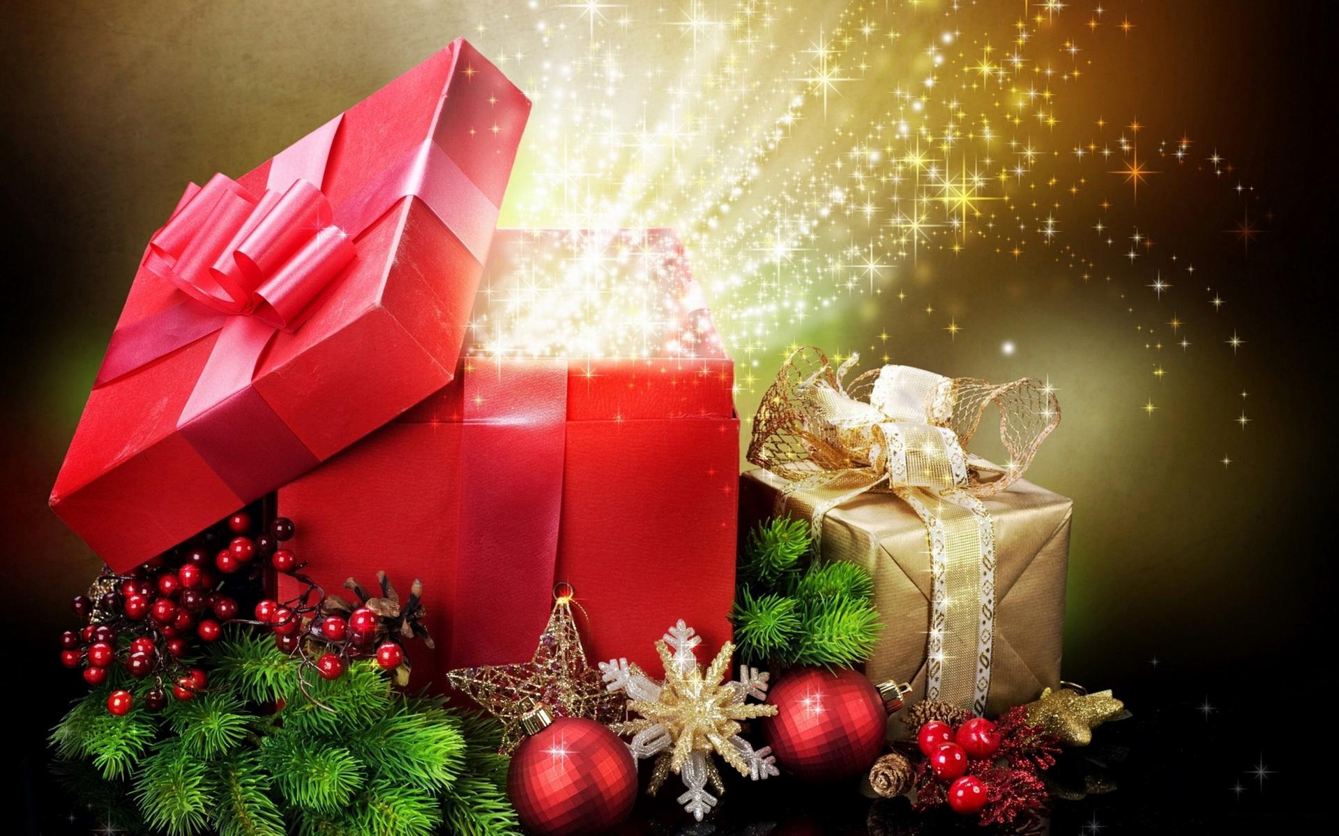 Подарок фото на новый год