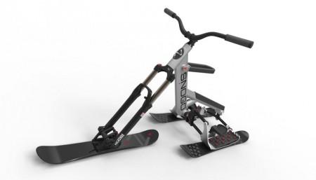 Snogo - велосипед на лыжах
