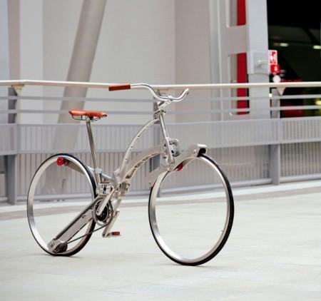 Велосипед в анфас
