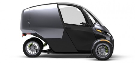Представлена уже восьмая модель гибрида мотоцикла и автомобиля