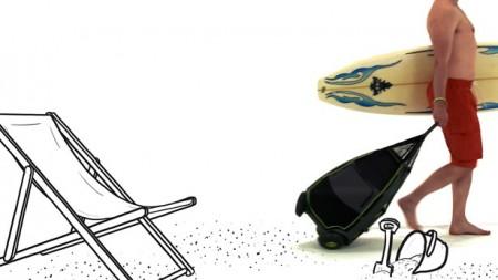 Trailpod или сумка на колесах для бездорожья