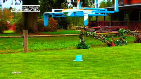 Amazon наконец представил своего дрона-курьера
