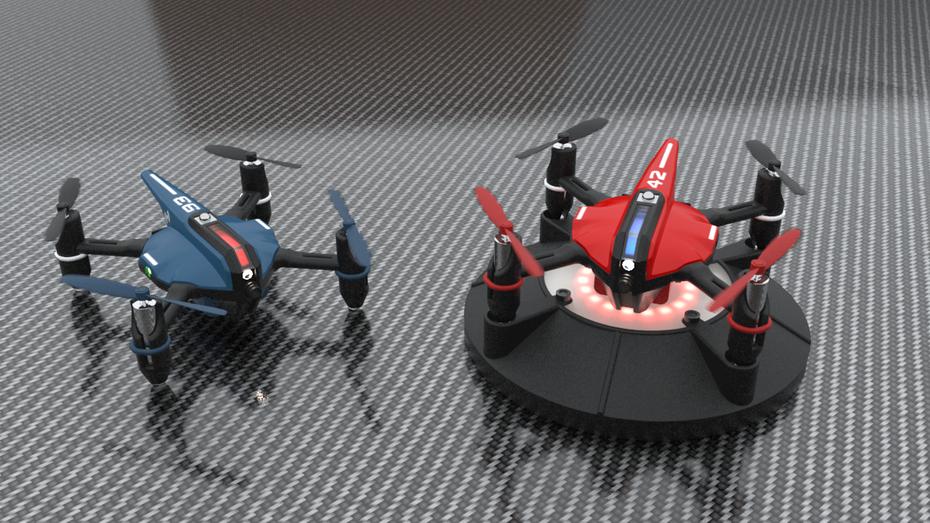 Воздушные бои и гонки квадрокоптерами