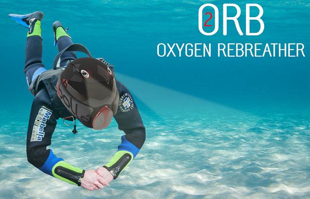 Разработан шлем для подводного плаванья — теперь под водой можно дышать