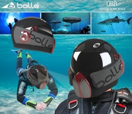 шлем для подводного плаванья