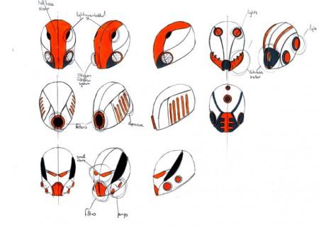 схемы шлема