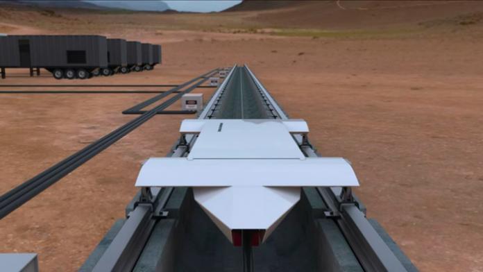 Презентован поезд способный разогнаться до 1,126 км/ч