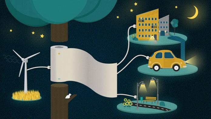 Ученые создали бумагу-аккумулятор