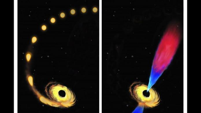 Астрономы всего мира наблюдали пожирание звезды черной дырой
