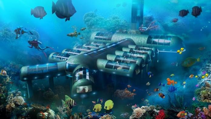 Planet Ocean Underwater Hotel переходит к строительным работам