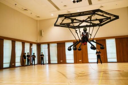 Студенты из Сингапура разработали свой летательный аппарат