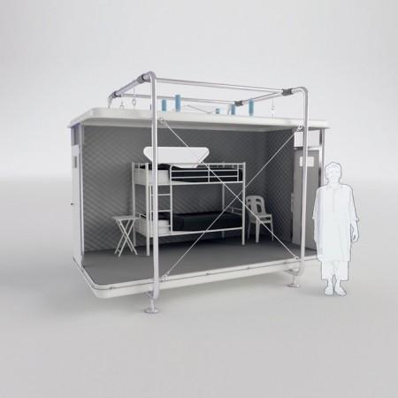 Designnobis продемонстрировала концепт складного домика
