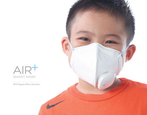 Создан Air+ Smart Mask - респиратор с климат-контролем