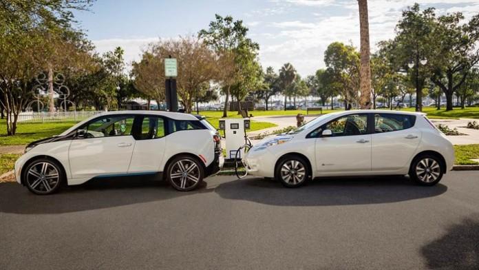 BMW и Nissan объединились для создания многочисленных электро-заправок