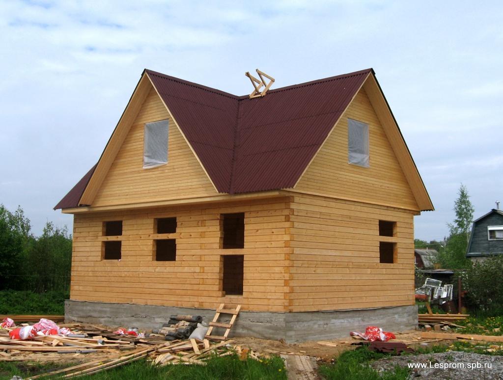 Дом построить из бруса 187