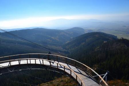 В Чехии открылась дорожка для прогулок в облаках