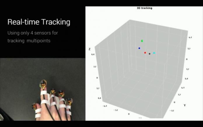 Разработан прототип перчатки для управления виртуальной реальностью