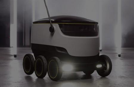 """Разработан """"пеший"""" робот для доставки грузов"""
