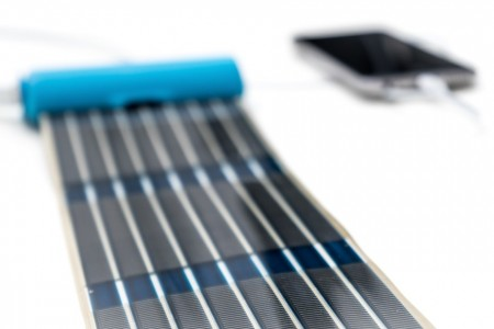 В продажу поступила портативная солнечная панель