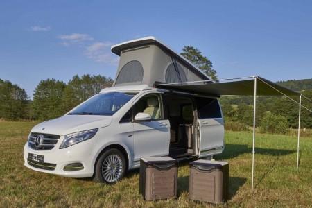Mercedes V-Class теперь будет раскладываться как палатка