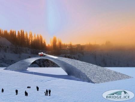 В Финляндии построят гигантский ледовый мост
