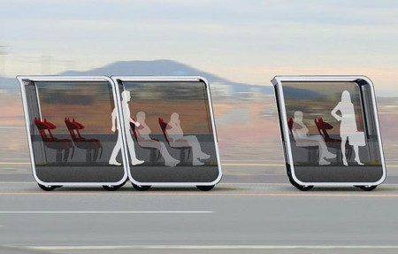 Представлена удивительная концепция общественного транспорта