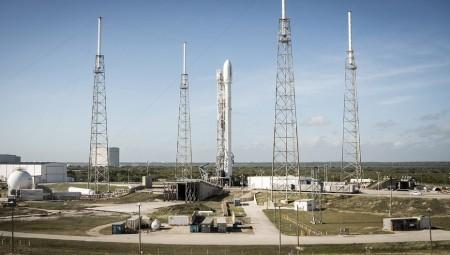 Falcon 9 сумел вернуться обратно