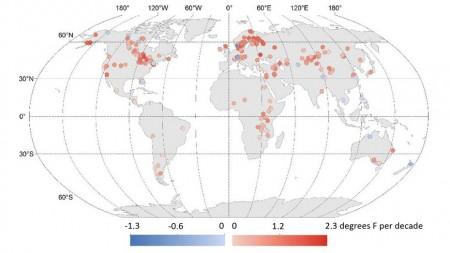 Ученые выявили серьезное повышение температур на озерах