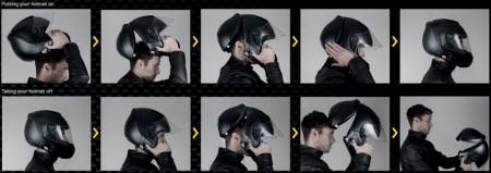 В продажу поступил самый безопасный мотоциклетный шлем