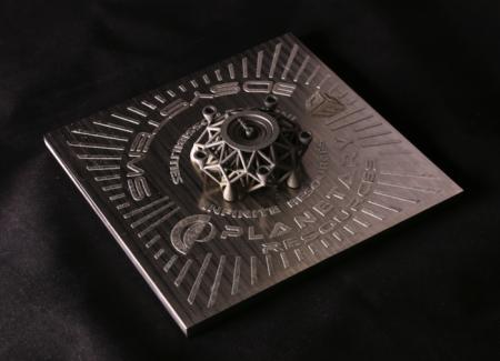 С помощью 3D-печати из метеорита напечатали скульпьуру