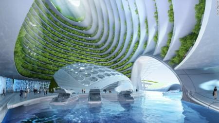 В Бельгии открыли проект по строительству подводных эко-деревень