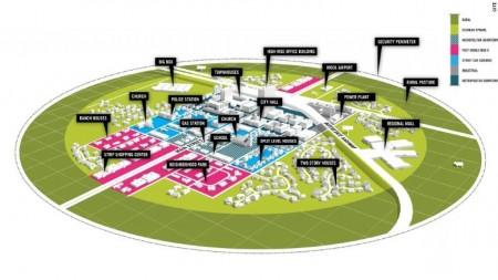 В США приступили к строительству экспериментального города
